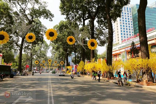 Chùm ảnh: Không khí Tết đã rộn ràng trên từng góc phố Sài Gòn 6