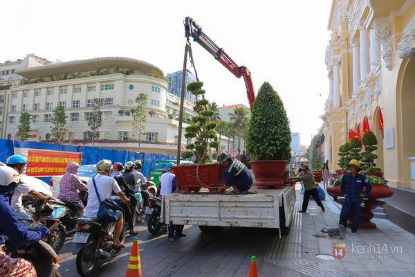 Chùm ảnh: Không khí Tết đã rộn ràng trên từng góc phố Sài Gòn 10