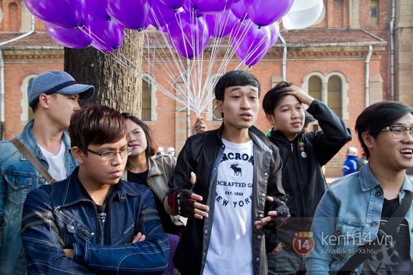 Màn cầu hôn bất ngờ của chàng trai trong hội Biker Sài Gòn 1