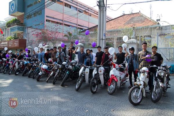 Màn cầu hôn bất ngờ của chàng trai trong hội Biker Sài Gòn 2