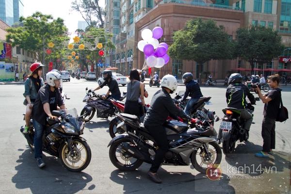 Màn cầu hôn bất ngờ của chàng trai trong hội Biker Sài Gòn 6