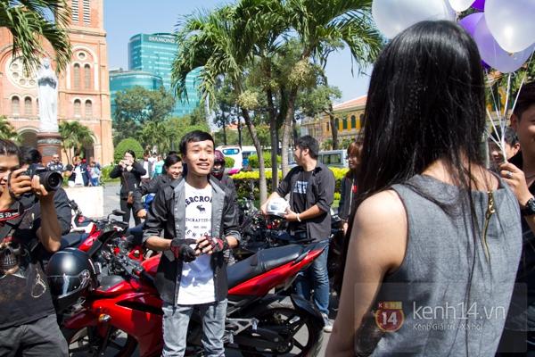 Màn cầu hôn bất ngờ của chàng trai trong hội Biker Sài Gòn 8