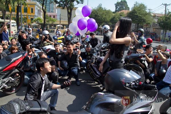 Màn cầu hôn bất ngờ của chàng trai trong hội Biker Sài Gòn 9