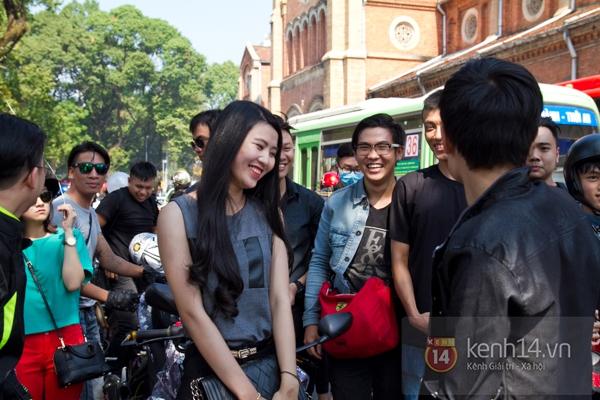 Màn cầu hôn bất ngờ của chàng trai trong hội Biker Sài Gòn 13