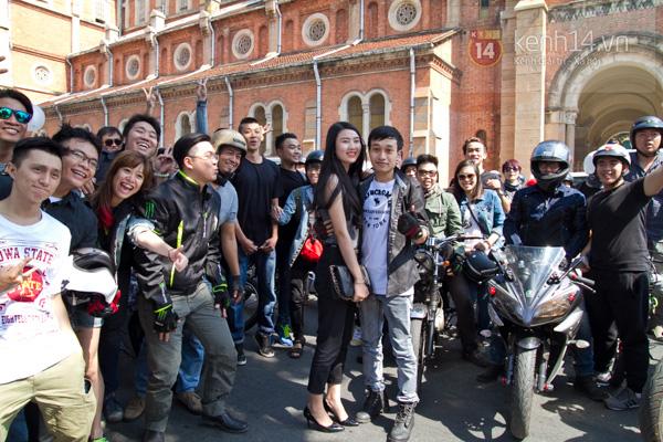 Màn cầu hôn bất ngờ của chàng trai trong hội Biker Sài Gòn 14