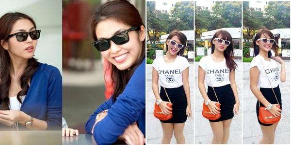 Hai hot girl Việt xinh đẹp cực giống Tăng Thanh Hà 5