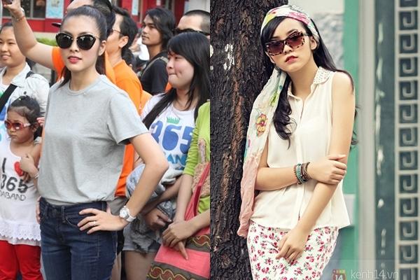 Hai hot girl Việt xinh đẹp cực giống Tăng Thanh Hà 6