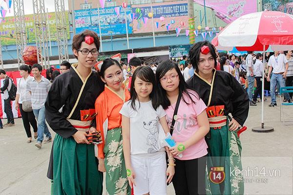 Giới trẻ Hà thành sôi động cùng lễ hội hoa anh đào 30