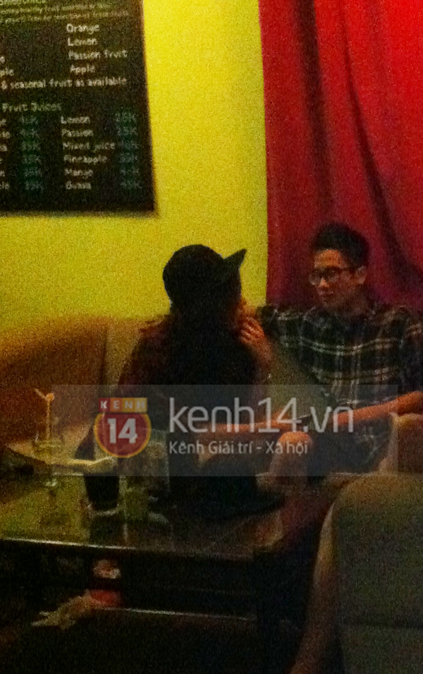 Vừa ra Hà Nội, Mie đã bị bắt gặp hẹn hò với JVevermind 1