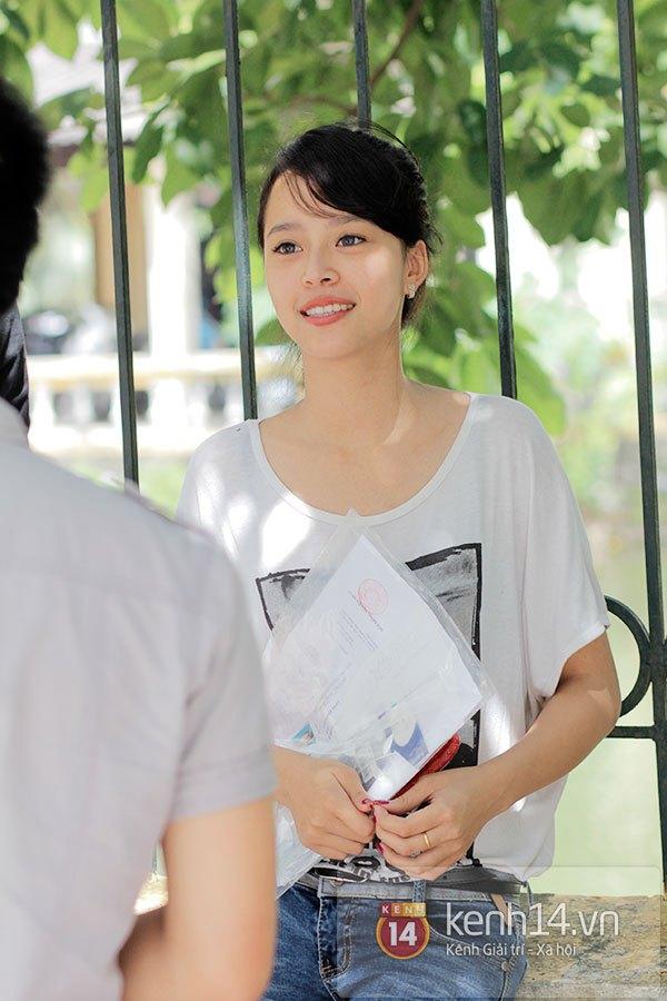 Nữ sinh dự thi Đại Học Sân khấu điện ảnh Hà Nội: Xinh cực là xinh! 2