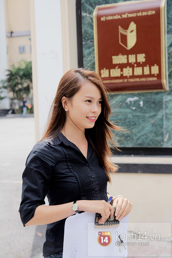 Nữ sinh dự thi Đại Học Sân khấu điện ảnh Hà Nội: Xinh cực là xinh! 3