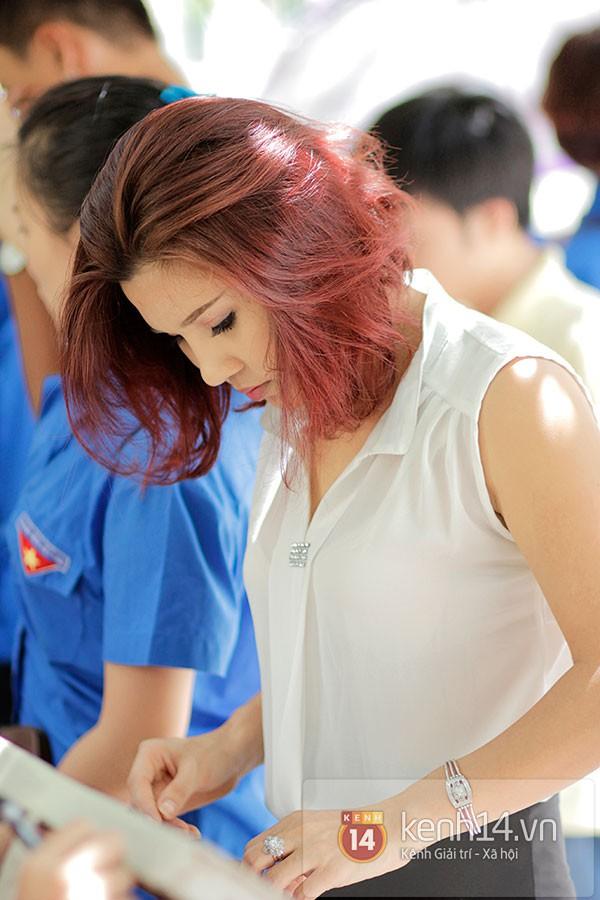 Nữ sinh dự thi Đại Học Sân khấu điện ảnh Hà Nội: Xinh cực là xinh! 8
