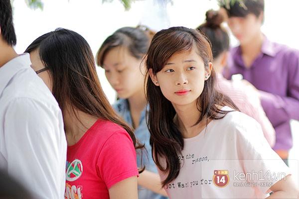 Nữ sinh dự thi Đại Học Sân khấu điện ảnh Hà Nội: Xinh cực là xinh! 10