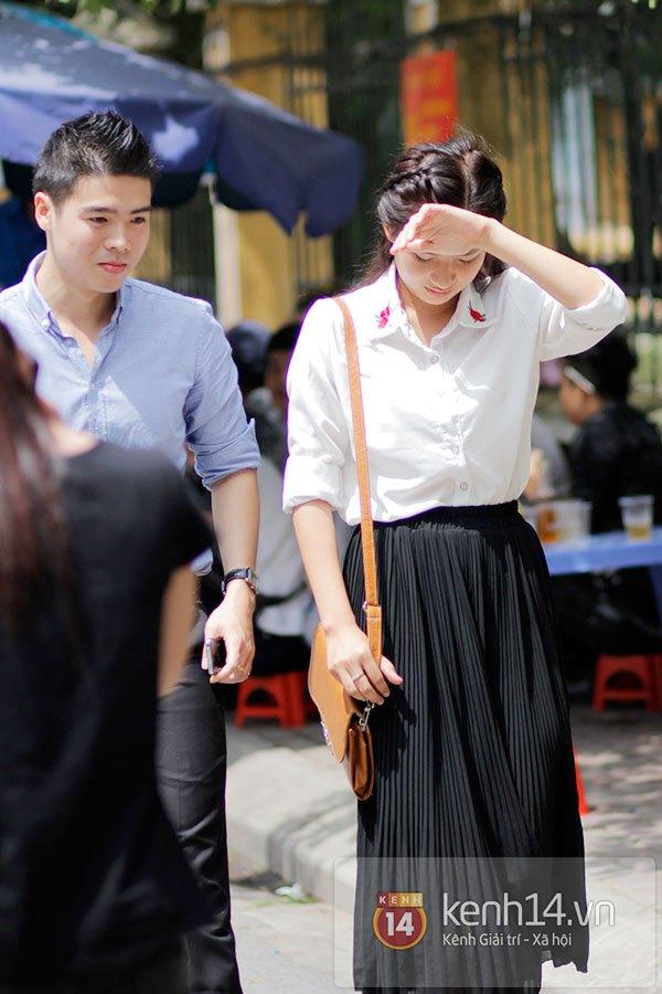 Nữ sinh dự thi Đại Học Sân khấu điện ảnh Hà Nội: Xinh cực là xinh! 9