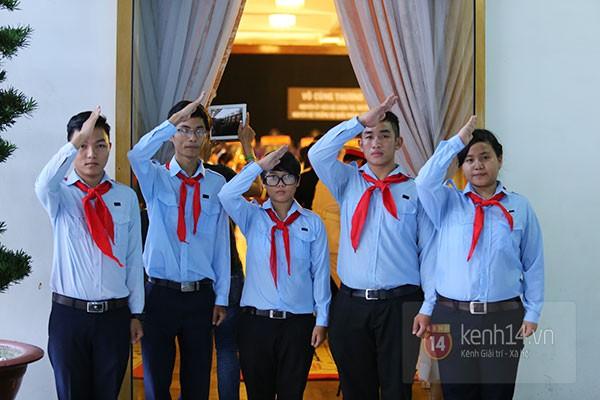 TP.HCM: Không khí trang nghiêm và đầy cảm động trong lễ viếng Đại tướng 77