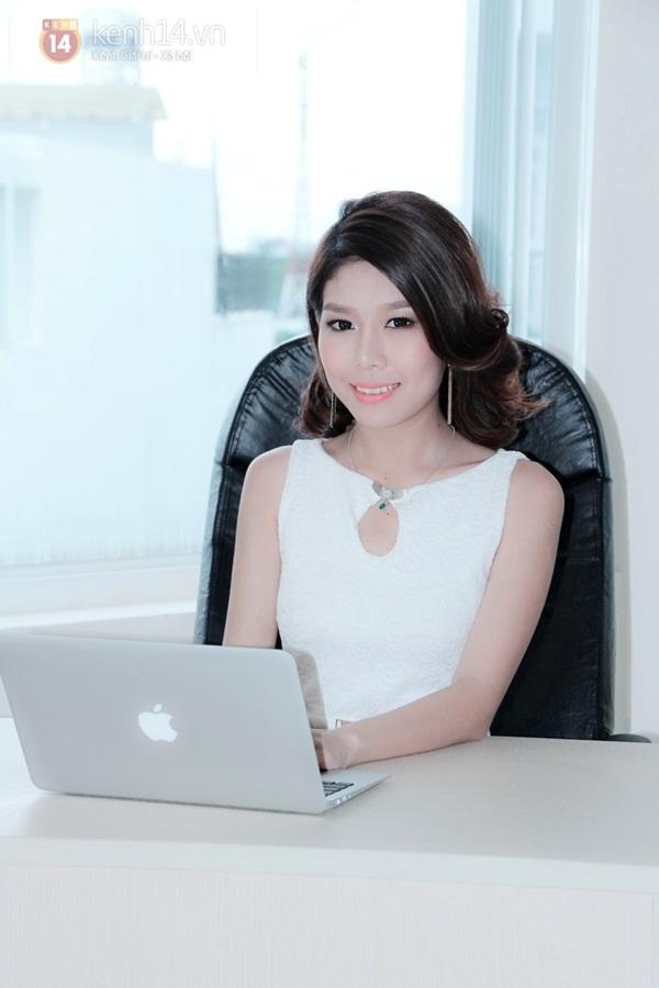Tuệ Nghi - nữ giám đốc 21 tuổi xinh đẹp và bản lĩnh 1