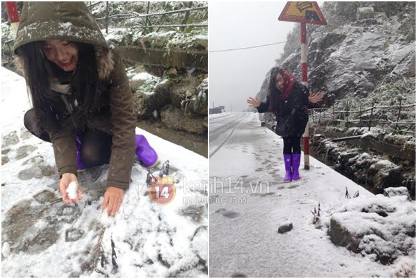 Chùm ảnh hot: Tuyết rơi dày, phủ trắng Sa Pa 19