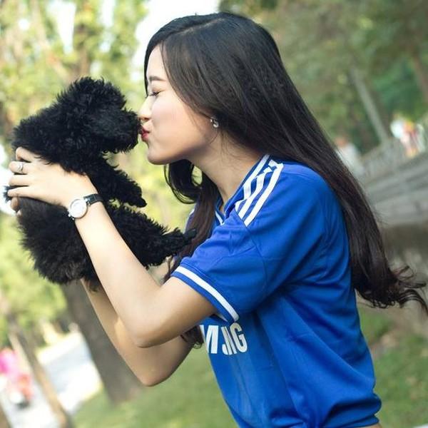 Ngắm hot teen Việt nhắng nhít chụp ảnh cùng thú cưng 26