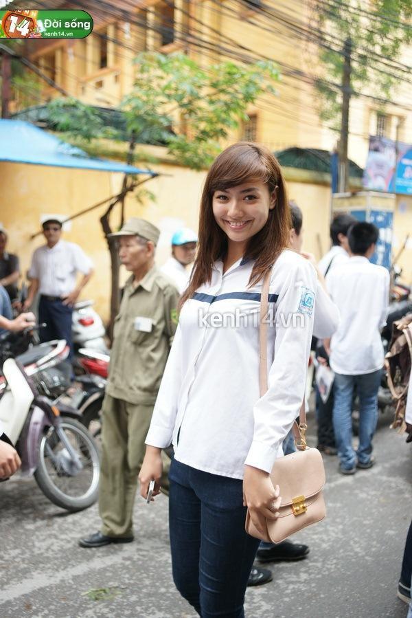 Ngắm hot girl Việt mặc đồng phục giản dị nhưng vẫn cực xinh 18