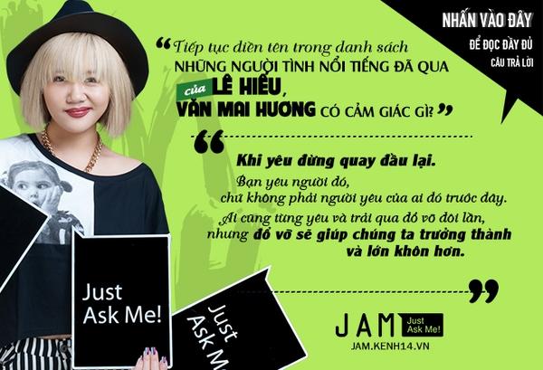 Văn Mai Hương lần đầu chính thức nói về chuyện tình cảm với Sơn Tùng M-TP 9