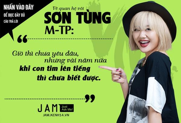 Văn Mai Hương lần đầu chính thức nói về chuyện tình cảm với Sơn Tùng M-TP 3