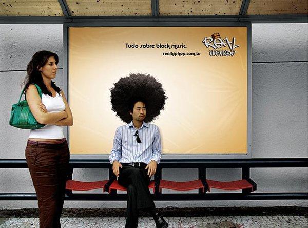 Độc đáo những ý tưởng quảng cáo ở bến xe bus 8