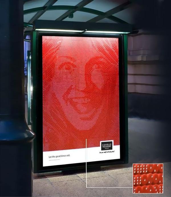 Độc đáo những ý tưởng quảng cáo ở bến xe bus 9