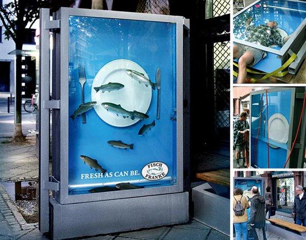 Độc đáo những ý tưởng quảng cáo ở bến xe bus 4