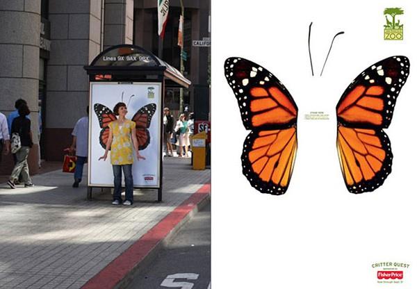 Độc đáo những ý tưởng quảng cáo ở bến xe bus 13