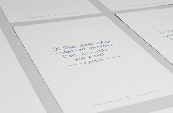 Sáng tạo những mẫu hồ sơ xin việc ấn tượng 10