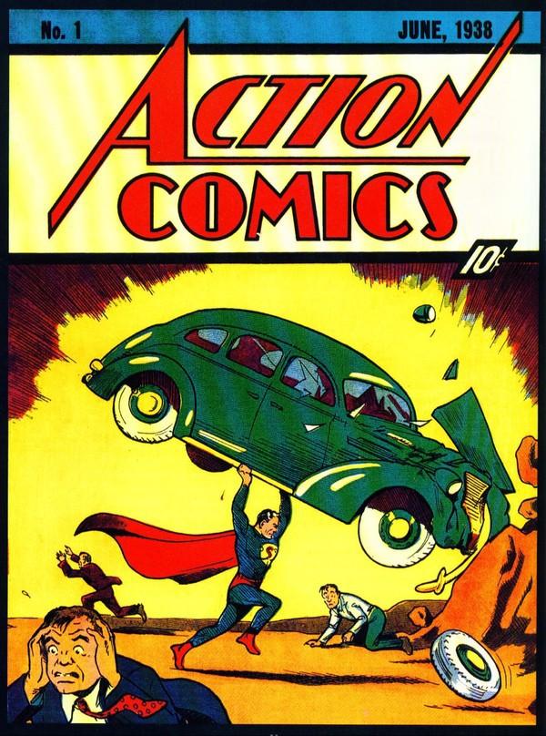 Superman - hình tượng siêu nhân qua các thời kỳ 2