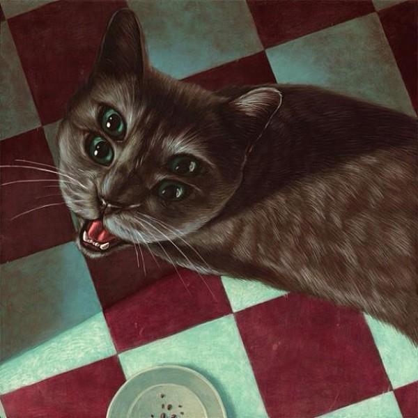 """Loài mèo biến hình qua những sáng tạo """"buồn cười"""" 13"""