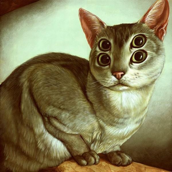 """Loài mèo biến hình qua những sáng tạo """"buồn cười"""" 15"""