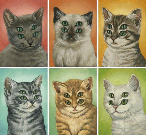 """Loài mèo biến hình qua những sáng tạo """"buồn cười"""" 16"""