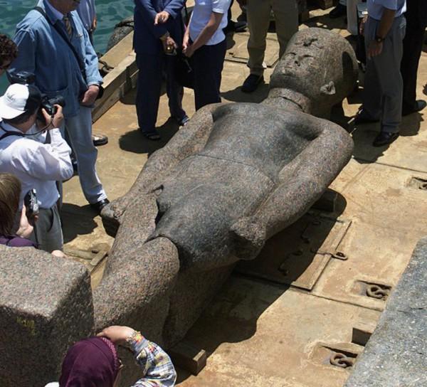 """Tái tạo """"thành phố Atlantis Ai Cập"""" bị nhấn chìm từ 1.200 năm trước 4"""