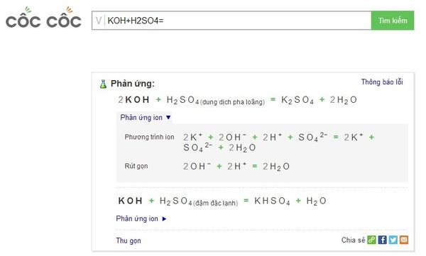 Cốc Cốc ra mắt tính năng giải hóa học thông minh đầu tiên tại Việt Nam 1