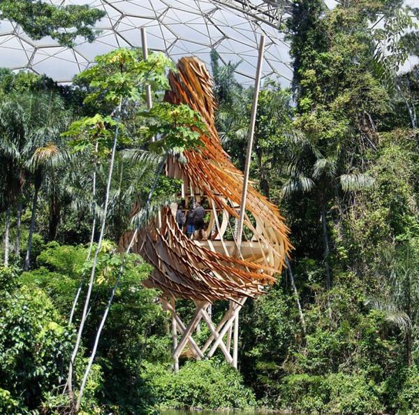 """Sáng tạo những """"tổ chim"""" mát mẻ dành cho con người 9"""