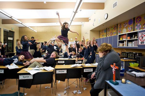 """Nghệ thuật múa ballet trong những tình trạng """"khó đỡ"""" 4"""