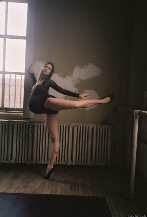 Hình ảnh múa ballet cho thấy sự kì diệu của quá trình mang thai 3