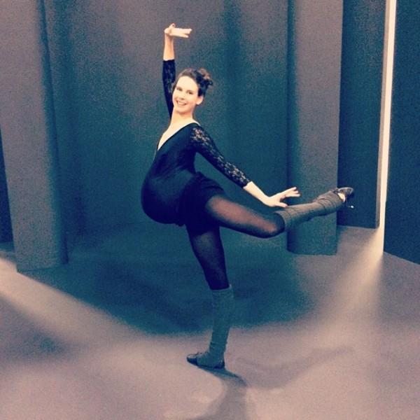 Hình ảnh múa ballet cho thấy sự kì diệu của quá trình mang thai 8