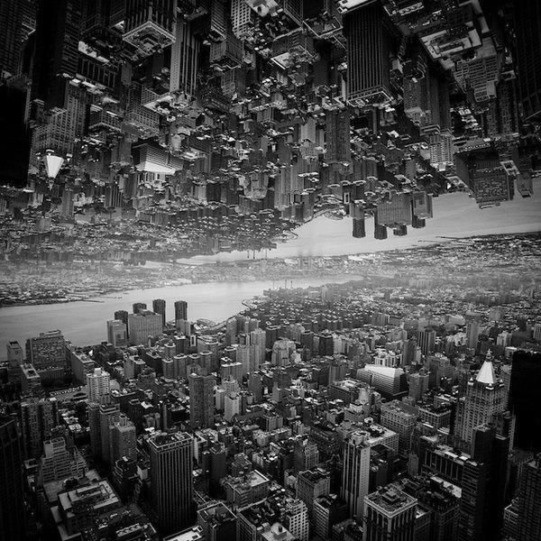 """Siêu đô thị """"chọc thủng bầu trời"""" qua ảnh đen trắng ấn tượng 1"""