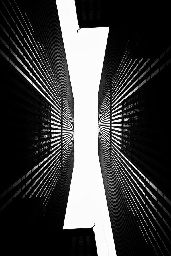 """Siêu đô thị """"chọc thủng bầu trời"""" qua ảnh đen trắng ấn tượng 2"""