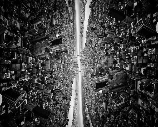 """Siêu đô thị """"chọc thủng bầu trời"""" qua ảnh đen trắng ấn tượng 4"""