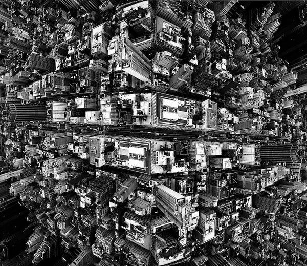 """Siêu đô thị """"chọc thủng bầu trời"""" qua ảnh đen trắng ấn tượng 5"""