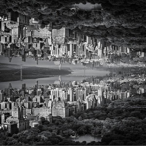 """Siêu đô thị """"chọc thủng bầu trời"""" qua ảnh đen trắng ấn tượng 6"""