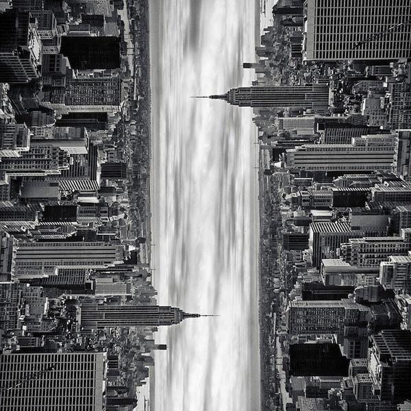 """Siêu đô thị """"chọc thủng bầu trời"""" qua ảnh đen trắng ấn tượng 8"""