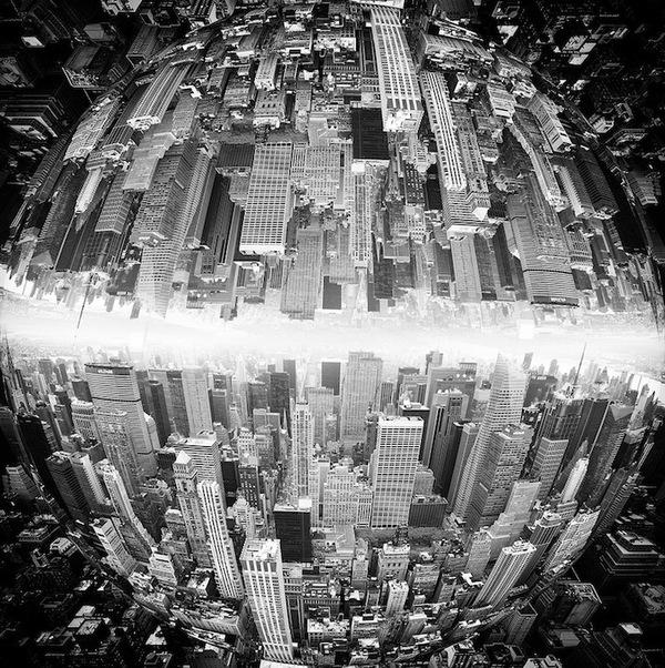 """Siêu đô thị """"chọc thủng bầu trời"""" qua ảnh đen trắng ấn tượng 9"""