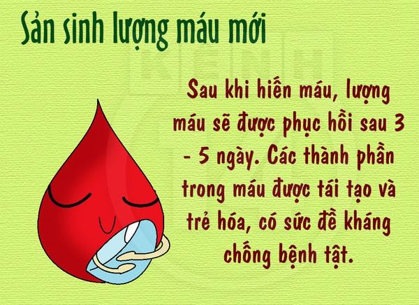 """Những lợi ích """"bất ngờ"""" khi hiến máu nhân đạo 1"""