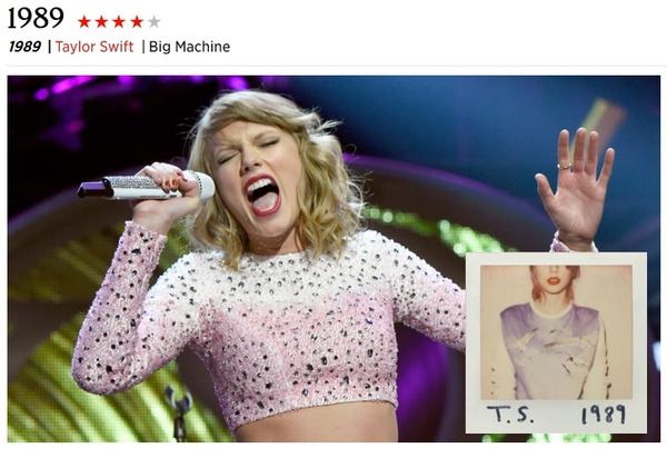 """""""1989"""" (Taylor Swift): Tuyệt phẩm cuối năm không thể bỏ qua 2"""