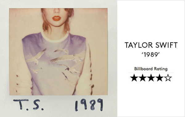 """""""1989"""" (Taylor Swift): Tuyệt phẩm cuối năm không thể bỏ qua 3"""